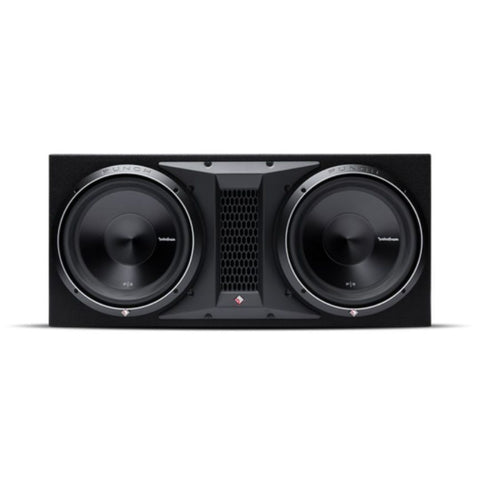 "Rockford Fosgate P3-2X12, Punch Dual 12"" Ported Loaded Enclosure, 1200 Watts RMS"
