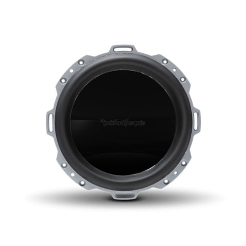 "Rockford Fosgate PM210S4X, Punch White 10"" Marine 4 Ohm Single Voice Coil Subwoofer w/ Integrated Luxury Grille, 500W"