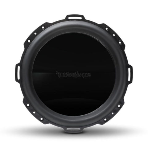 "Rockford Fosgate PM212S4B, Punch Black 12"" Marine 4 Ohms Single Voice Coil Subwoofer, 600W"