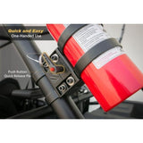 Scosche PSM21000, Baseclamp Fire Extinguisher Mount Base (Requires 2 Clamps - Not Included)