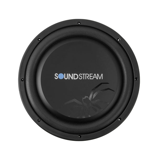 "Soundstream PSW.124, 4½ Shallow 3"" Mounting Depth 12"" Subwoofer - 600W"