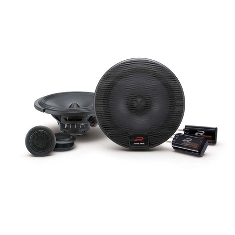 "Alpine R-S65C.2, R Series 6.5"" 2 Way Component Car Speakers - 300 Watts Peak"