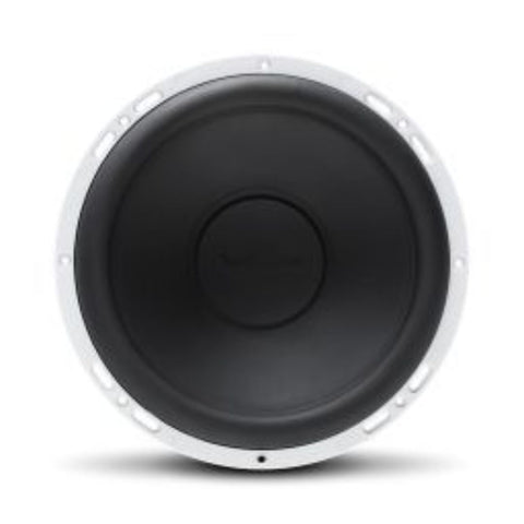 "Rockford Fosgate RM112D4, Prime White 12"" Marine 4 Ohm Dual Voice Coil Subwoofer, 400W"