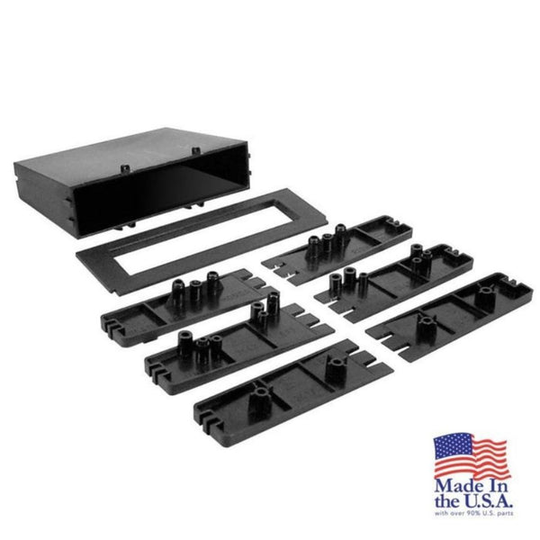 Scosche TN2150B, 1982-2004 Toyota / Nissan / Select Import Pocket Kit - ISO DIN Installations