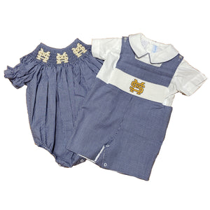 Smocked Bubble and Shortall