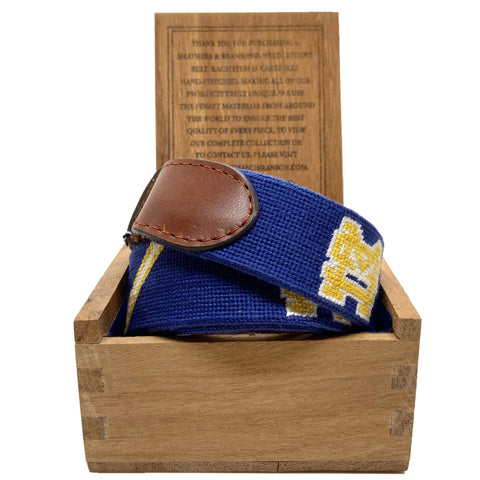 Smathers and Branson Navy SM Belt