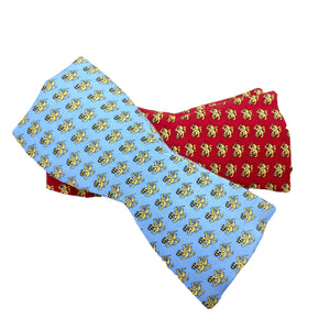 Vineyard Vines Lion and Sword Bow Tie