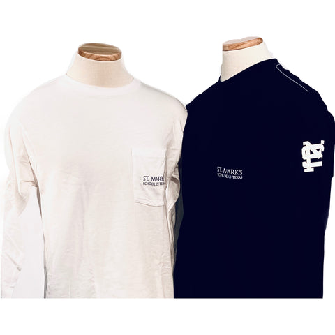 League Long Sleeve Pocket Tee