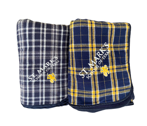 Boxercraft Flannel Plaid Blanket