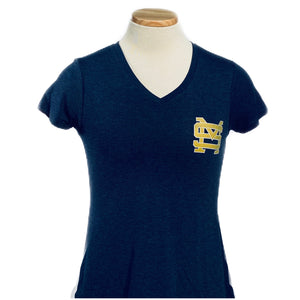 League Ladies' V Neck Tee