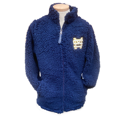 Boys' Full Zip Sherpa
