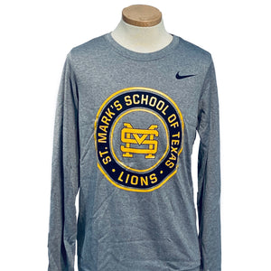 Nike Boys' Legend Dri-FIT Long Sleeve Tee with Circle Logo