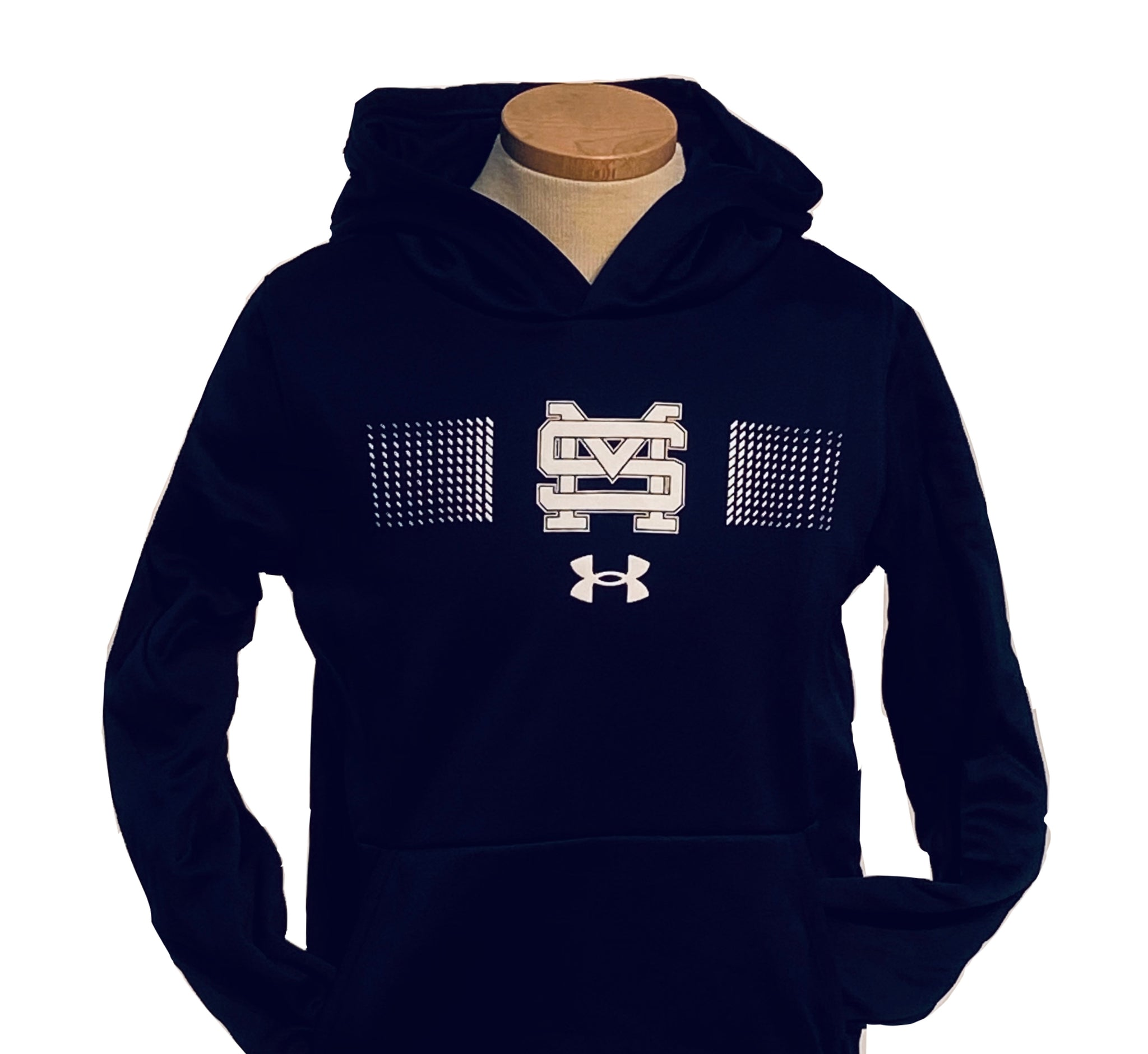 Under Armour Boys' Performance Hoodie with SM Dashes
