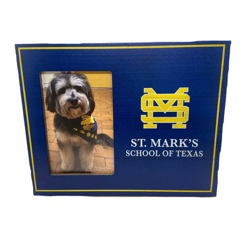 Navy Picture Frame with SM