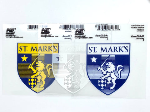 Crest Car Decal