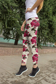 Rose Printed Leggings 2020