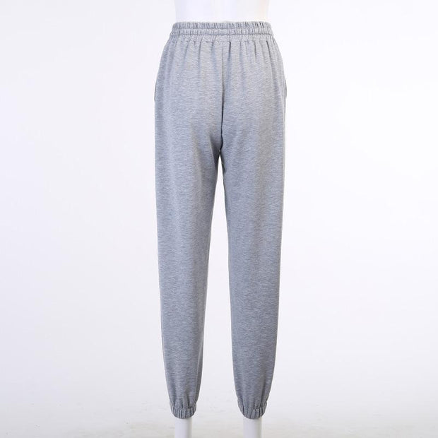 Women Drawstring Sports Pants