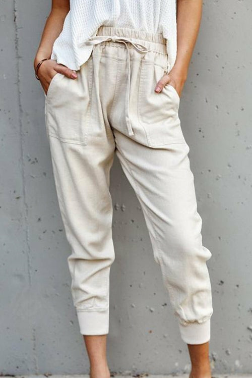 Apricot Casual Pockets Pant