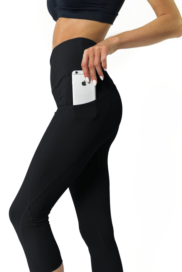 Yoga Capri Legging for Women-Just Women Leggings