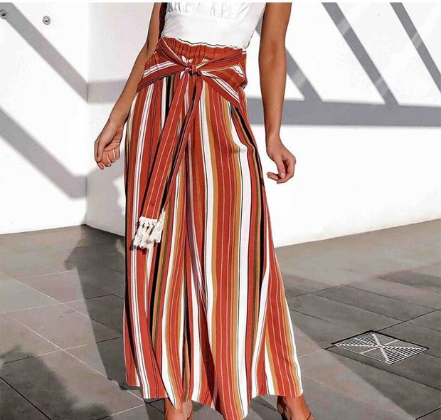 Cotton Striped Lagging For Women