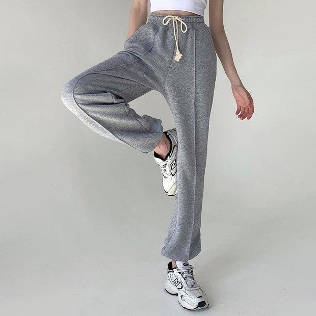 Gray Women High Waist  Streetwear