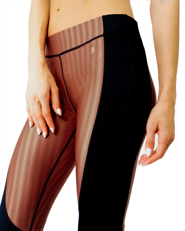 Halston Fitness Yoga Set-Just Women Leggings