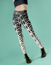 Flower of Life Legging-Just Women Leggings