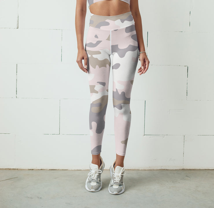 Pink Camo Legging 2021-Just Women Leggings
