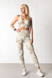 Faded Camo Fitness Set-Just Women Leggings