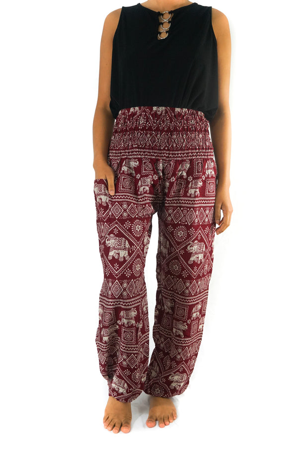 Elephant Printed Women Pant