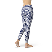 Polynesian Maori Tattoo Legging-Just Women Leggings