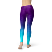 Deep Sea Triangles Legging-Just Women Leggings