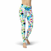 Jean Paint Splatter Leggings