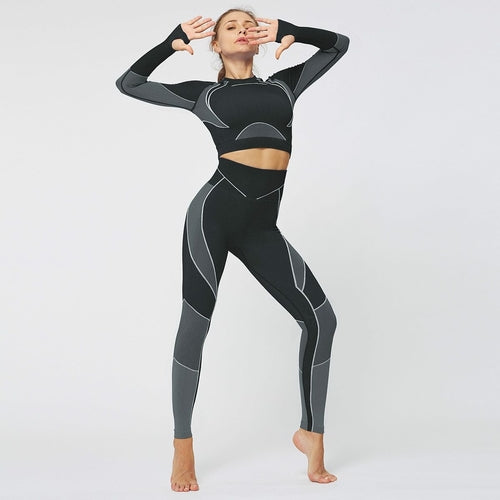 Women Seamless Workout Legging-Just Women Leggings