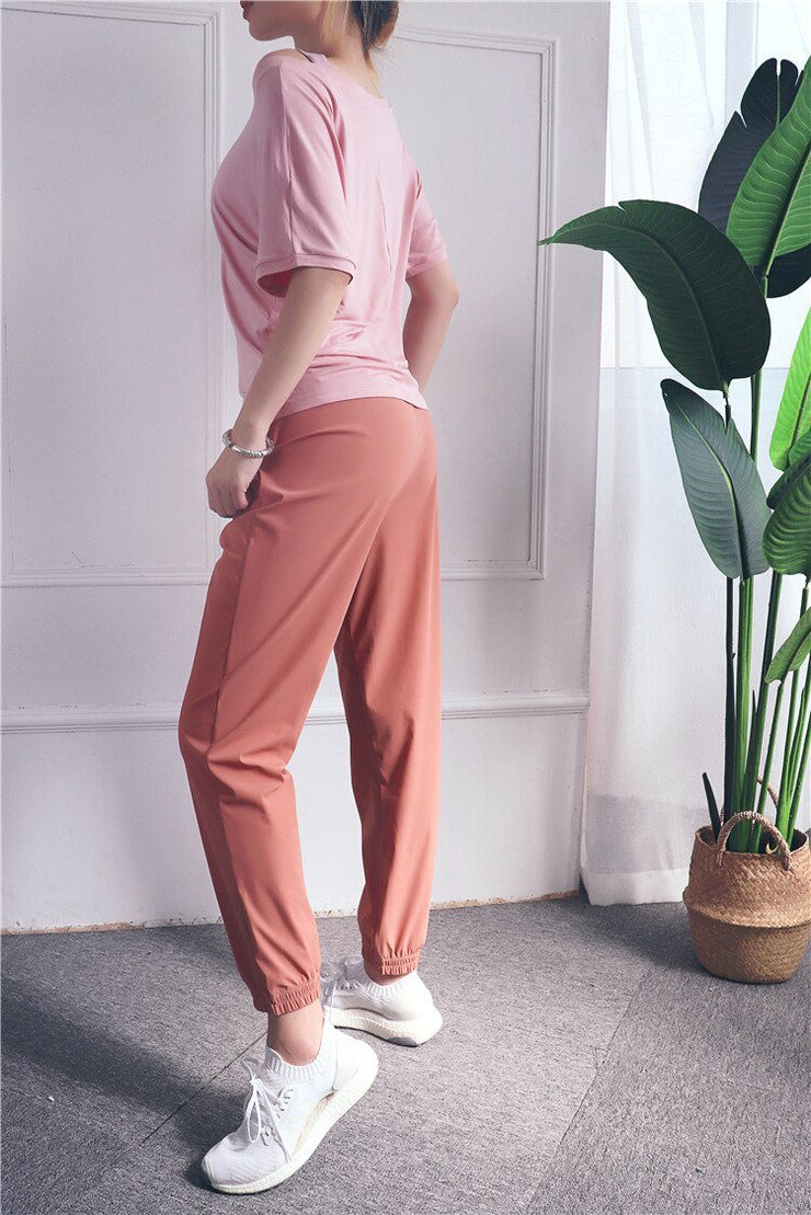 Loose Casual Running Pants Women Sports Fitness Jogging Trousers