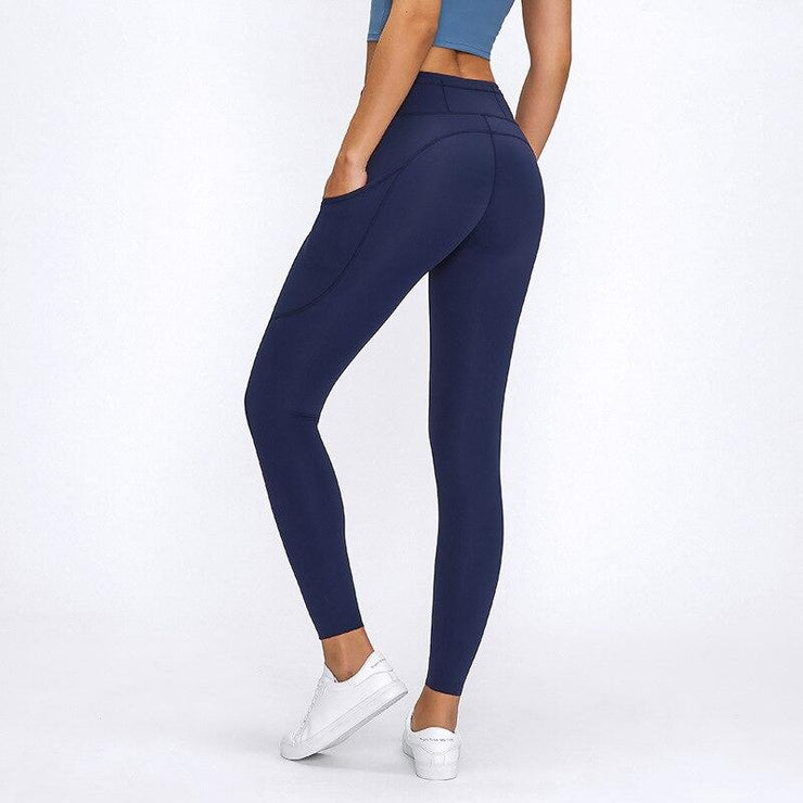 Seamless Sports Yoga Pant Legging-Just Women Leggings