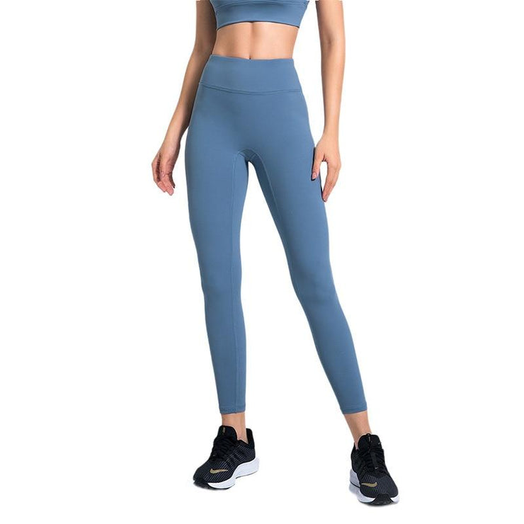 Seamless Solid Yoga Legging-Just Women Leggings