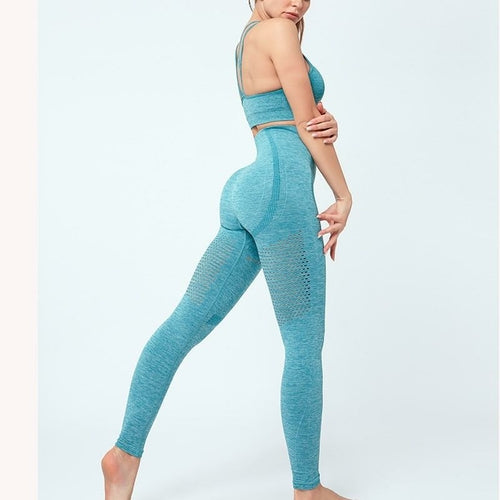 Women Seamless Yoga Set 2021-Just Women Leggings