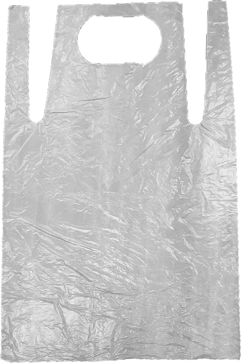 DISPOSABLE APRONS 686x1100MM FLAT PACKED (500 PK)