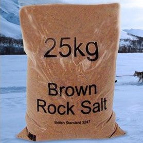 ROCK SALT 25KG BAG