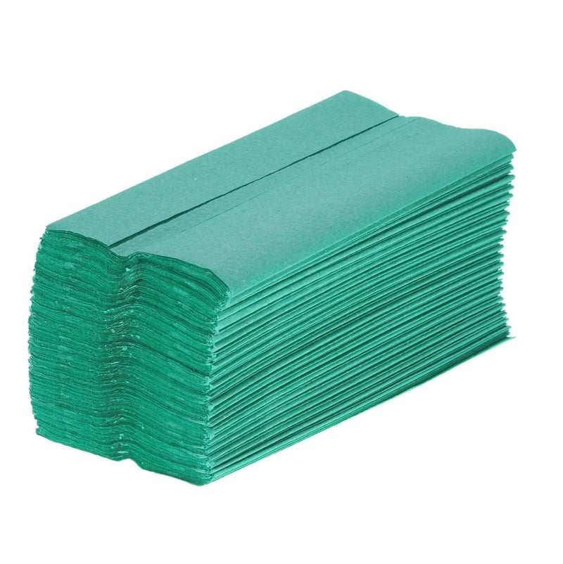 C FOLD PAPER HAND TOWEL PACK OF 2520 GREEN