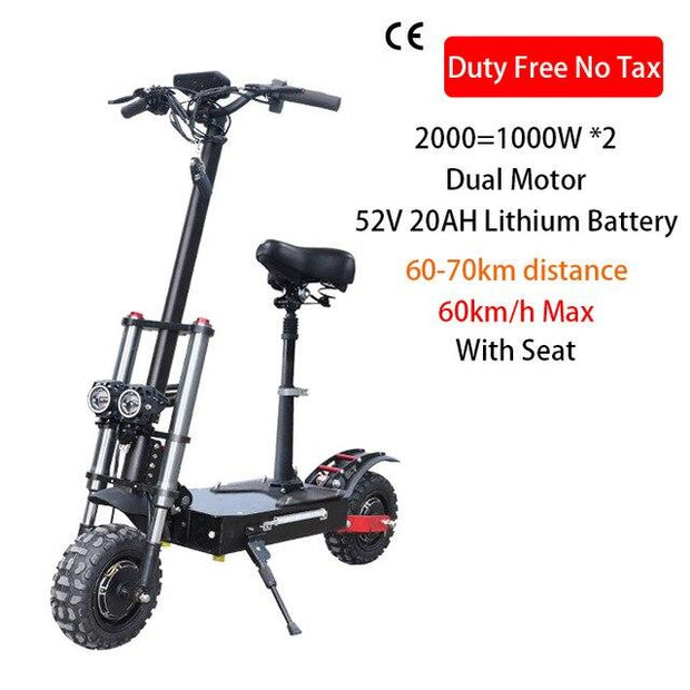 2000W to 3200W Electric Scooter 11 inch tire / off road.-Pro eRiders