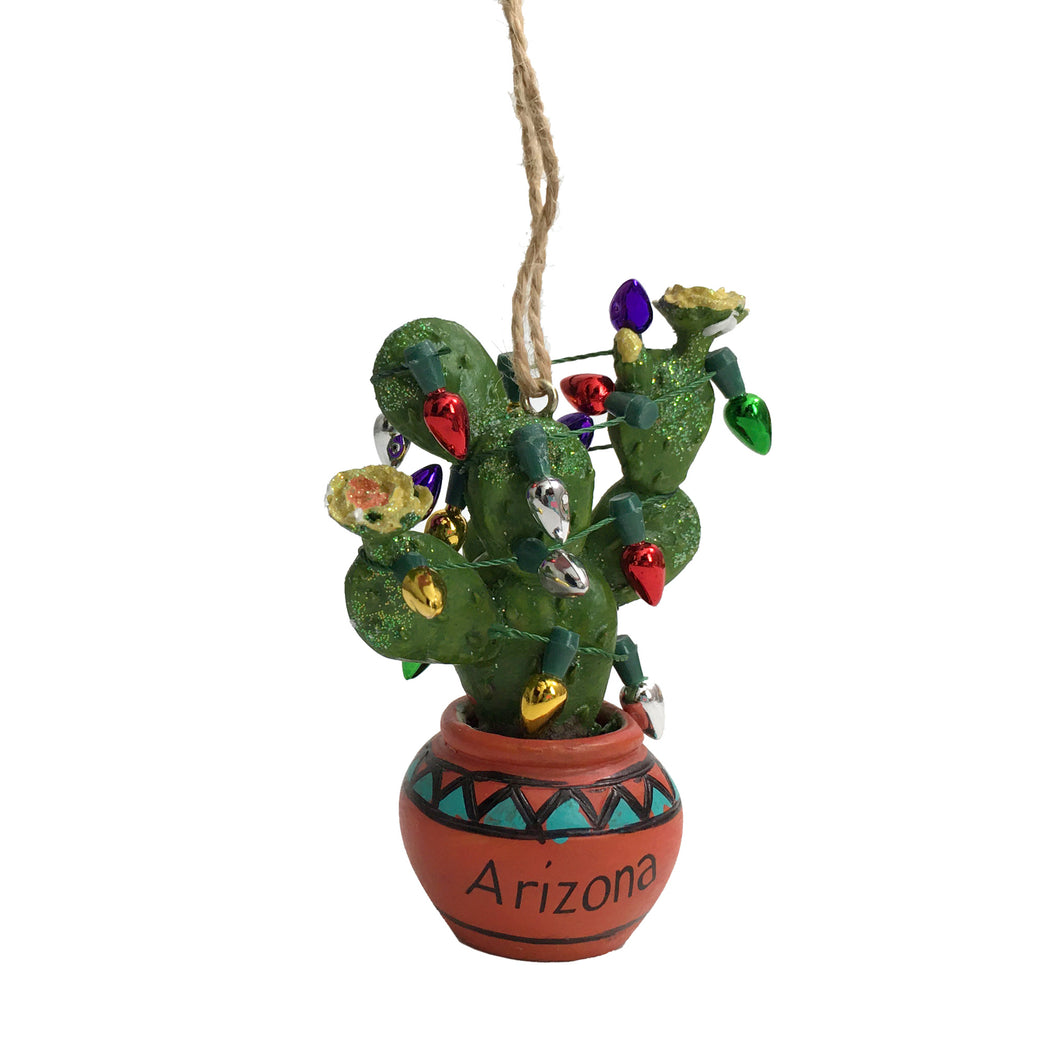 Prickly Pear Holiday Ornament