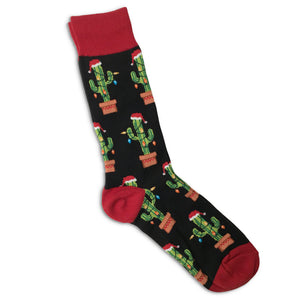 Holiday Saguaro Socks