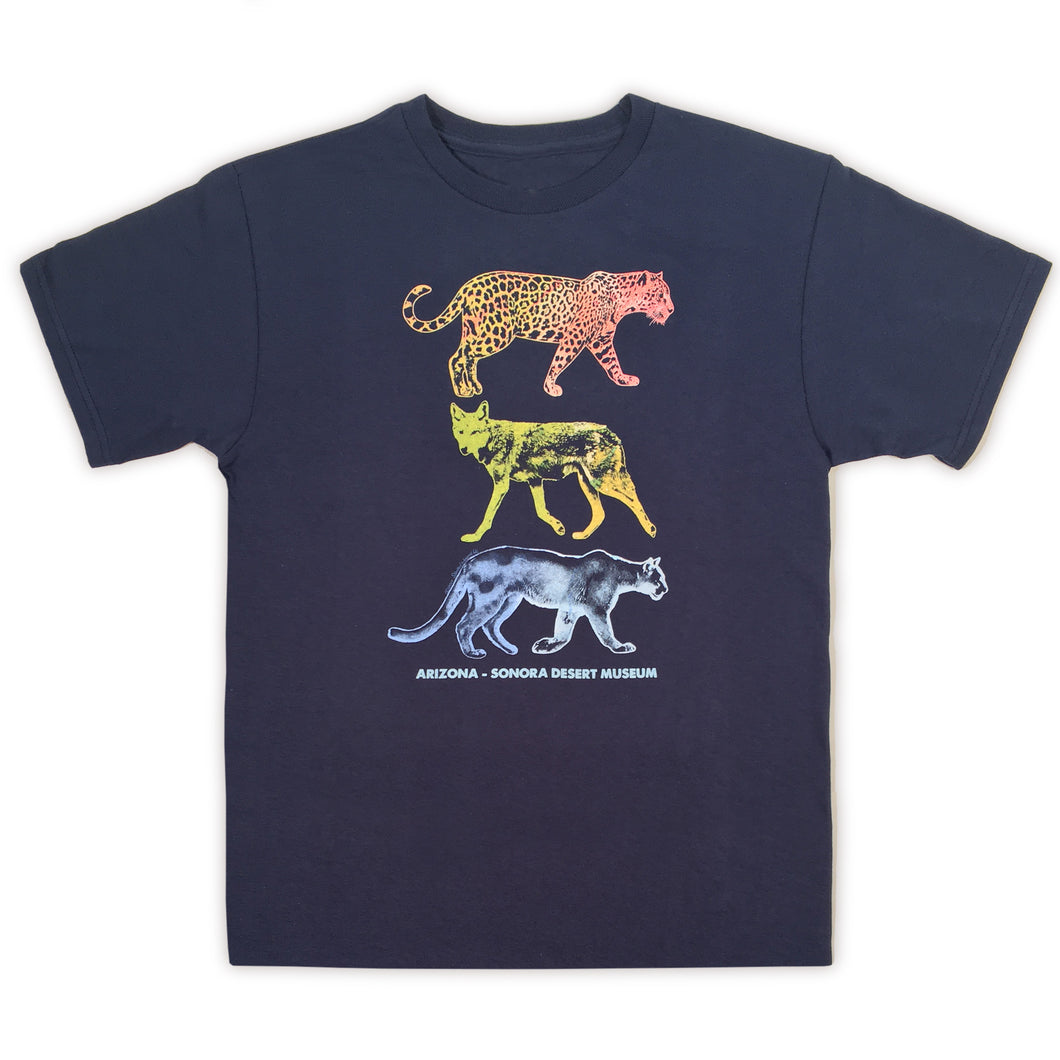 Watercolor Predators Youth T-Shirt