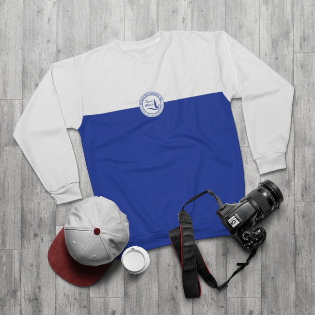 Zeta Phi Beta 1920 AOP Blue Sweatshirt
