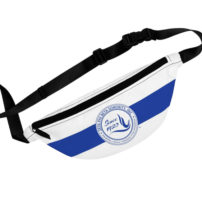 Zeta Phi Beta Sorority Dove Fanny Pack
