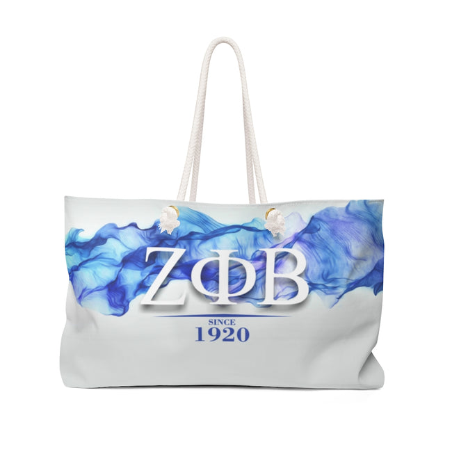Zeta Phi Beta Sorority 1920 Weekender Bag