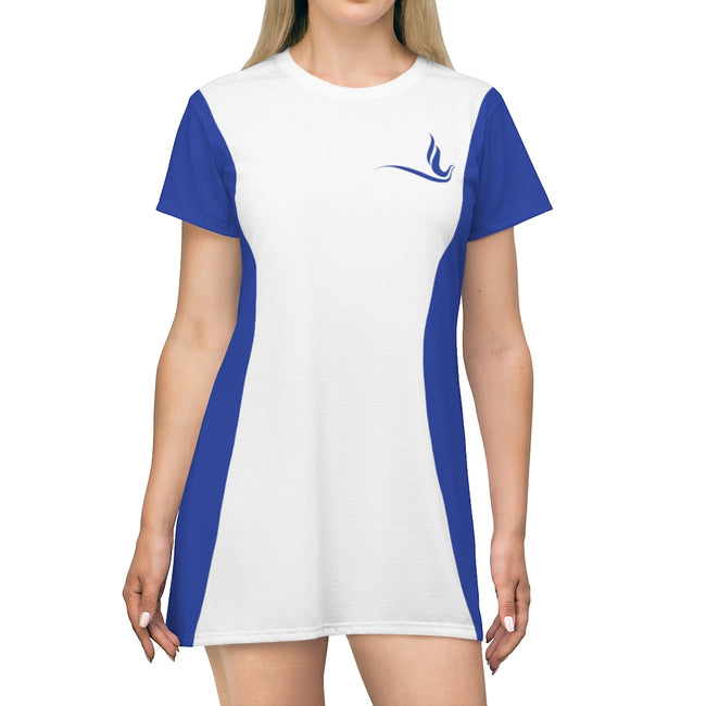 Zeta Phi Beta Sorority Dove Dress