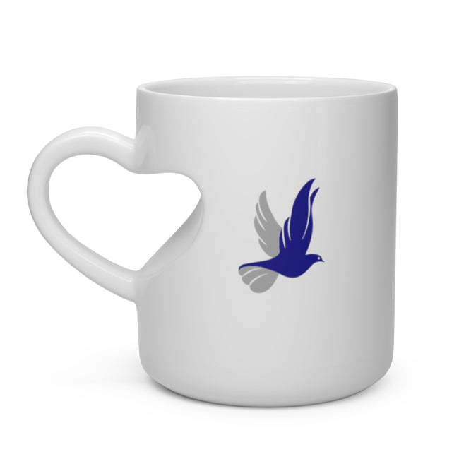 Zeta Phi Beta Heart Shape Mug